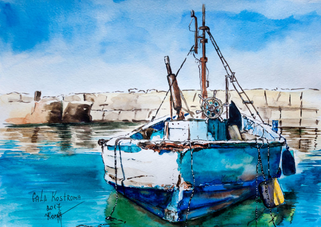 old boat
