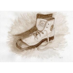 Ботинок натюрморт