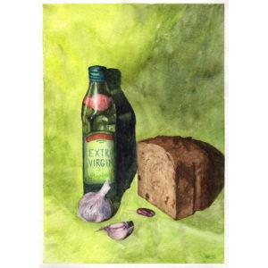 Натюрморт с хлебушком