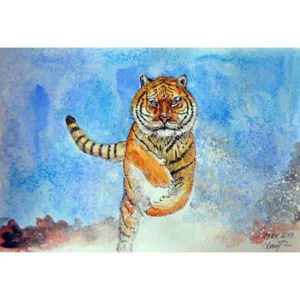 Бегущий тигр