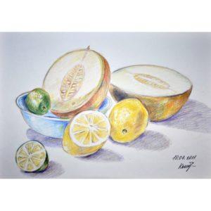 Лаймы, лимоны и дыни