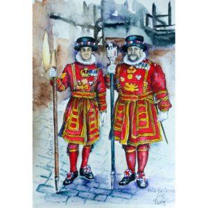 Лейб-гвардейцы королевы