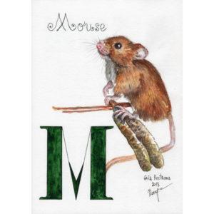 """Мышка, серия """"Азбука"""""""