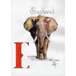 """Слон, серия """"Азбука"""""""