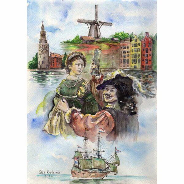 За Голландию